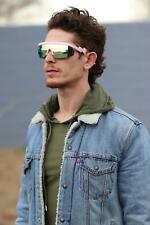 Retro Rainbow Mirrored Lens ZigZag Sunglasses Cheaper than Pit Vipers