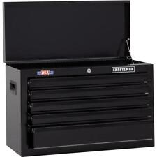 CRAFTSMAN 26-in Wide 5-Drawer Tool Cabinet Chest 26-in W x17.25-in H Steel Black