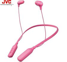 JVC HA-FX39BT PINK Marshmallow Bluetooth Wireless In-Ear Headphones / Brand New