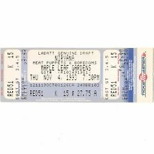 NIRVANA & MEAT PUPPETS Full Concert Ticket Stub TORONTO 11/4/93 IN UTERO TOUR