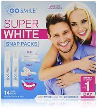 GO SMILE Super White Professional Teeth Whitening System (14 single-use,...