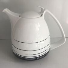 Rosenthal TAC Dynamic  schwarz-weiß KAFFEEKANNE I. WAHL Gropius Coffee Pot