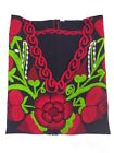 Artisan Hippie Peasant Boho Embroidered Blouse Assorted Colors Made in Mexico
