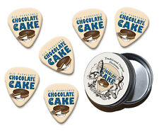 Chocolate Cake Martin Wiscombe 6 X Guitar Picks In Tin Vintage Retro
