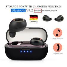Drahtlos Bluetooth 4.2 Kopfhörer In Ear Stereo Ohrhörer Headset Kopfhrer TWS