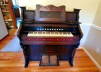 Packard Fort Wayne Oregon Company pump organ antique in great condition~!!!