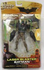 Mattel Batman Begins Power Tek Laser Blaster Batman Figure