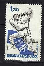 Andorra ( French Post ) : 1979 Campionat del Món de Judo New ( MNH )