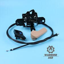 4Pcs Hood Lock + Cable + Release Handle + Bracket Set For VW Golf Jetta MK4 Bora