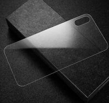 iPhone X Rückseite Panzerglas Schutzglas Echtglas Tempered Glass Hinten Back 10