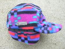 Columbia vintage Aztec Elemer Fud Winter Hat Ear Flap Snowboarding Hunting Ski