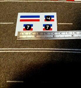CORGI 305 MINI MARCOS GT850 Set of Stickers.