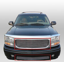 GMC 1999-06 SIERRA/YUKON DENALI FRONT MAIN+LOWER BUMPER BILLET GRILLE POLISHED