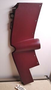 1971-1973 Cadillac Lower Dash Driver Side Steering Column Cover Panel  DARK RED