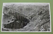 Photographie aérienne chaîne de montagne Les Pyrénées LAPIE 47*27 cm ecole