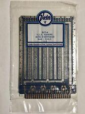 """Vector 3677-2 Plugboard 4.5"""" x 6.5""""/.042 Holes 44 Pcb edge contacts"""