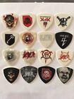 16 Slayer Tour Guitar Pick Lot Collection