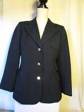 veste blazer vintage BURBERRYS bleu marine