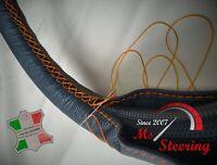 Pour Volvo V50 05-10 Perf Volant en cuir couverture choisi Couleur 2 STIT
