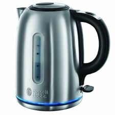 Russell Hobbs Quiet Boil Jug Cordless Kettle 1.7L Stainless Steel 3000W, 20460