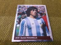 PASSARELLA ARGENTINA 1978 FIGURINA DS STICKERS FRANCE 98 WORLD CUP new