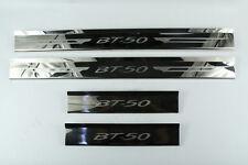 STAINLESS STEEL SCUFF PLATE MAZDA BT50 BT-50 PRO 4 DOORS 05 06 07 08 09 10 11