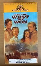 How the West was Won, 2 Tape Set, Henry Fonda, Gregory Peck,Jimmy Stewart  VHS