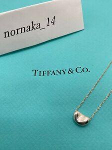 Near MINT TIFFANY & Co Sterling Silver 925 Small Bean Pendant No Box