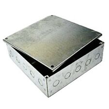Deta 300x300x100 Adaptable Galvanised Boxes Knockouts Steel Electrical Enclosure