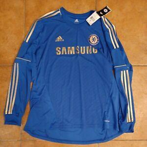 Brand NEW Chelsea FC Adidas ClimaCool Long Sleeve Soccer Jersey Men's XXL