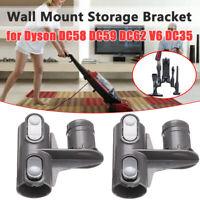 2/4Pcs Wall Mount Storage Bracket for Dyson DC58 DC59 DC62 V6 DC35 Accessories