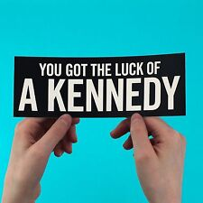 "Vampire Weekend sticker! ""You Got The Luck Of A Kennedy"" Diane Young,ezra koenig"