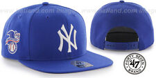Yankees 'SURE-SHOT SNAPBACK' Royal Hats by 47 Brand
