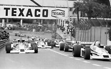 JAMES HUNT McLAREN M26 5 LARGE PHOTOGRAPHS  COLLECTION MONACO 1978 GP F1 FOTO