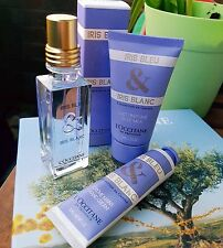 L'Occitane Iris Bleu & Iris Blanc Eau De Toilette Gift Set, Body & Handcream