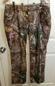 Women's UNDER ARMOUR Performance Field Pants REALTREE Xtra 1227666 946 Size ~ 10