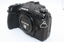 Olympus OM-D E-M1 Mark II Body 20.4MP Black Mirrorless Camera + BATT CHARGER SD