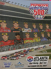 *PEPBOYS 500* SOUVENIR PROGRAM 2007 ATLANTA MOTOR SPEEDWAY
