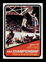 1972 Topps #242 Playoffs Game 2  NM X1484214