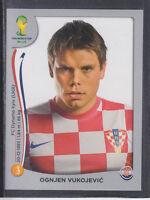 268901 Ognjen Vukojevic   Kroatien  Panini Sticker EM 2012  signiert