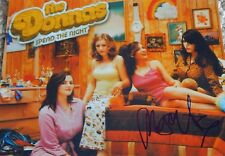 THE DONNAS Autographed Signed RARE COLOR 8x10 Photo Maya Ford SPEND THE NIGHT