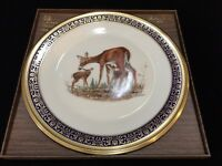 """Lenox Presents """"Whitetail Deer"""" Collector Plate by Boehm w/Original Box, 10 6/8"""""""
