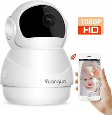Yuanguo Wifi IP Wireless HD Camera Two Way Audio Baby Monitor Night Vision