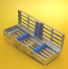 Strumenti Dentali sterilizzazione CASSETTA Vassoio Rack per 5 Strumenti CE