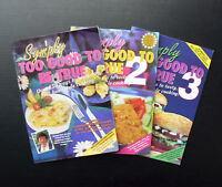 SYMPLY TOO GOOD TO BE TRUE Book 1 2 3 Annette Sym low fat diet cookbook simply