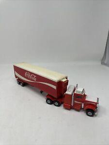 Vintage Coca-Cola Matchbox K-31 SuperKings Peterbilt Tractor with Trailer 1978