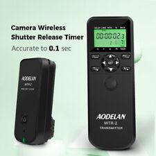 AODELAN Camera Wireless Shutter Release Timer Remote For Canon Nikon Sony Olympu