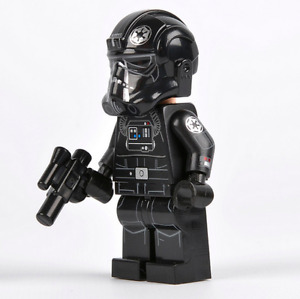 Lego Star Wars Minifigure UCS TIE Fighter Pilot 75095 Printed Arms **New**Rare**