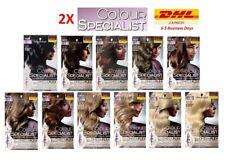 2X Schwarzkopf COLOUR SPECIALIST Hair Color Expert Cream Omegaplex Anti-Breakage