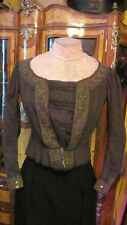 Antique Victorian Edwardian bodice waist 1905